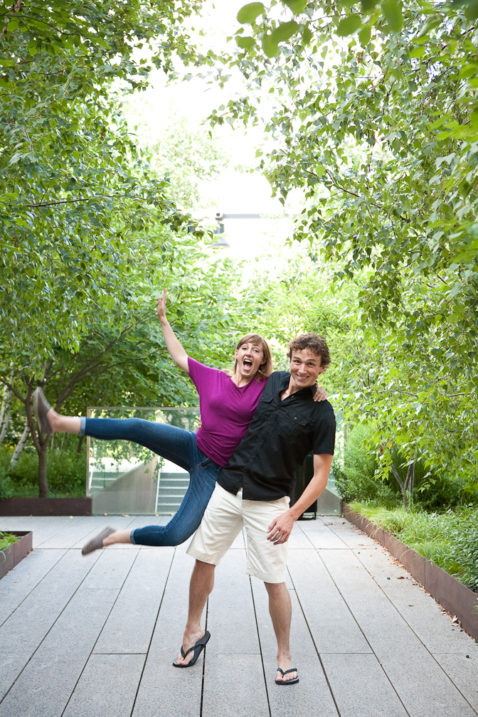 _up studios engagement session highline