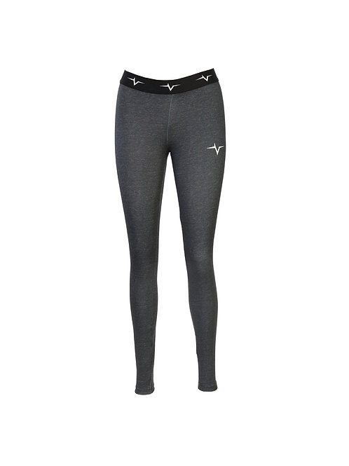 PeakPulse - Fitness Leggings in Grey