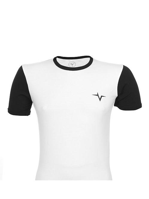 Pulse White/Black T-Shirt