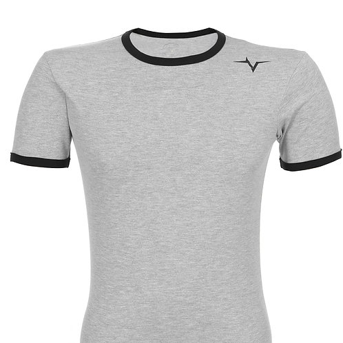 PeakPulse - Muscle fit T-Shirt in Grey