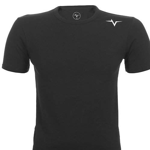 PeakPulse - Muscle Fit T-Shirt in Black