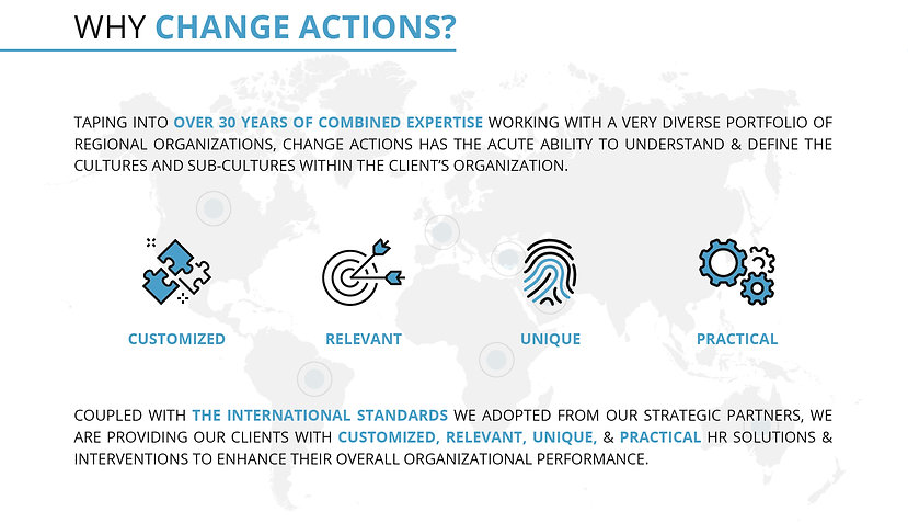 Change Actions Values