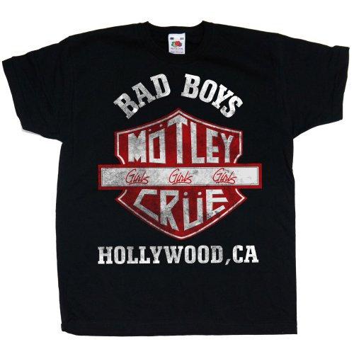 Motley Crue Bad Boys Shield (Youth)