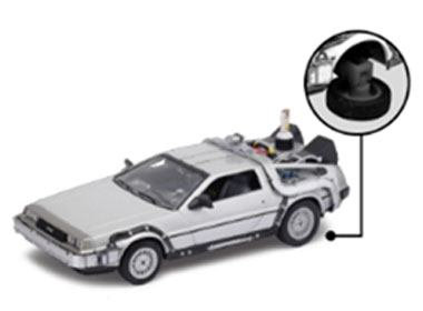 Back to the Future II Diecast Model 1/24 '81 DeLorean LK Coupe Fly Wheel