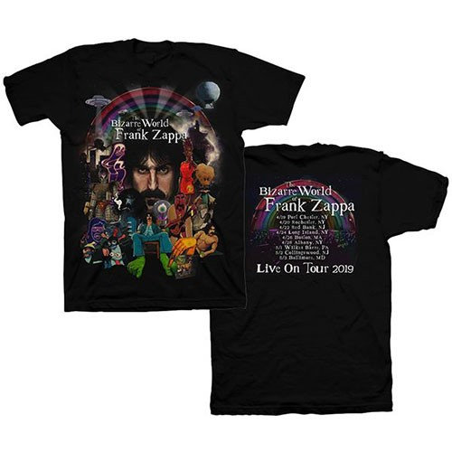Frank Zappa, Bizarre World Of… 2019 Tour (Back Print)