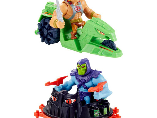 Pre-Order Masters of the Universe Eternia Minis Vehicles with Figures