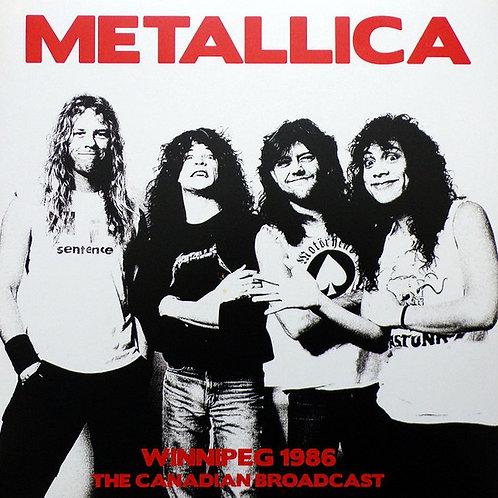 Metallica, Winnipeg 1986