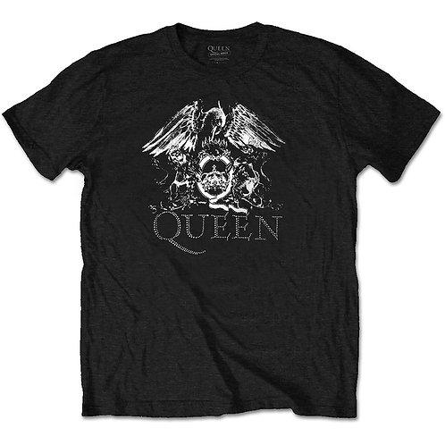 Queen Crest Logo (Diamante)
