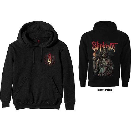 Slipknot, Burn Me Away Hoodie with Back Print