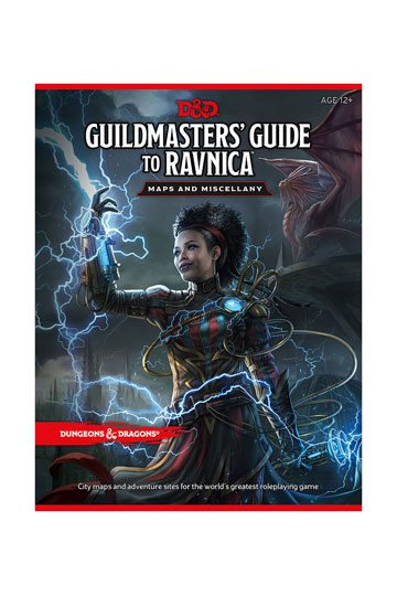 Dungeons & Dragons RPG Guildmasters Guide to Ravnica & Miscellany (English)