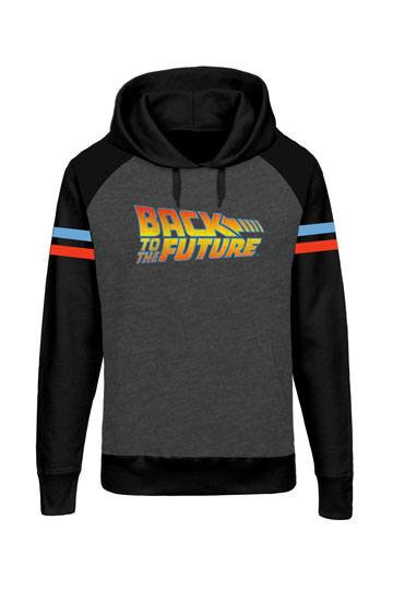 Back to the Future Hooded Raglan Sweater Logo