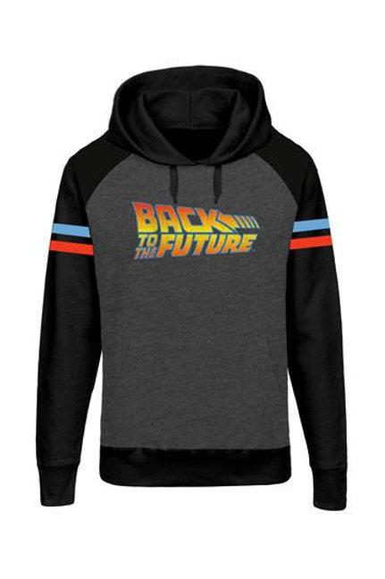 Back to the Future Hooded Raglan Sweater Logo