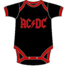 AC/DC Kids Baby Grow: Horns