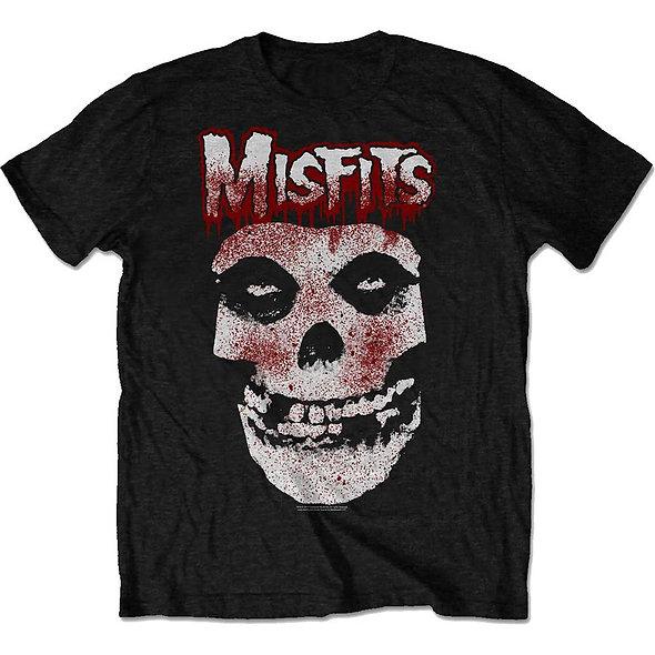 Misfits Unisex Tee : Blood Drip Skull