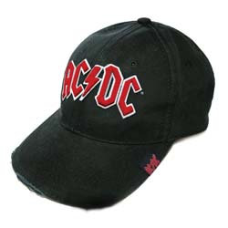 AC/DC Red Logo Baseball Cap