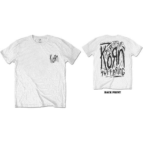 Korn, Scratched Type (Back Print)