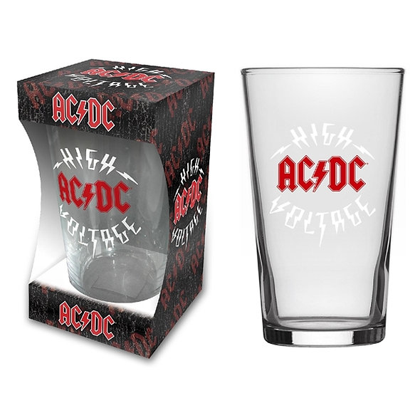 AC/DC, High Voltage (Beer Glass)