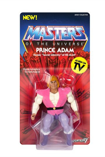 Masters of the Universe Vintage Collection Action Figure Wave 3 Prince Adam 14cm