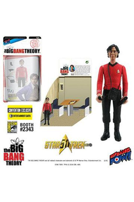 Big Bang Theory (The) Action Figures with Diorama Set Raj TOS EE Exclusive 10 cm