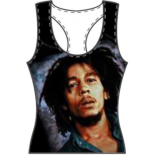 Bob Marley Oversize Lady Multi Vest