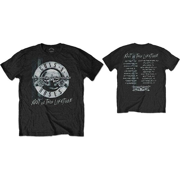 Guns N' Roses, Not In This Lifetime Tour Xerox (Back Print)