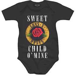 Guns N' Roses Kids Baby Grow: Child O' Mine Rose