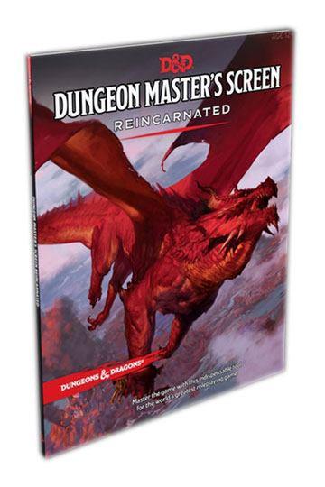 Dungeons & Dragons RPG Dungeon Master's Screen Reincarnated