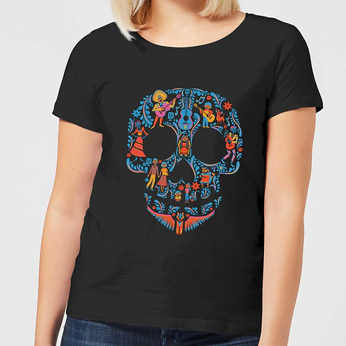 Disney's Coco, Patterned Skull (Ladies)
