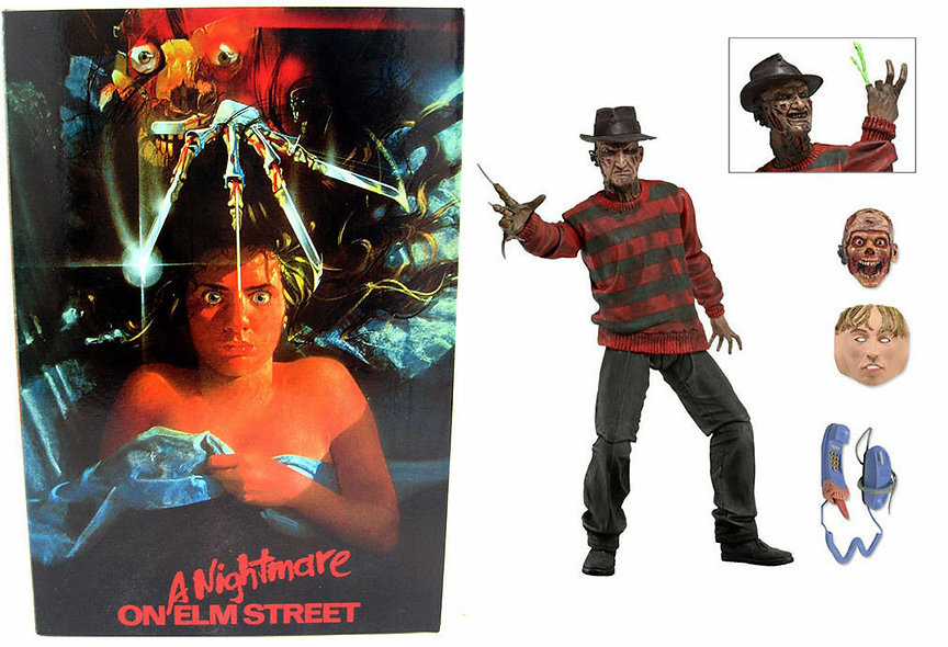 "Nightmare on Elm Street 7"" Scale Action Figure 30th Anniversary Ultimate (NECA)"