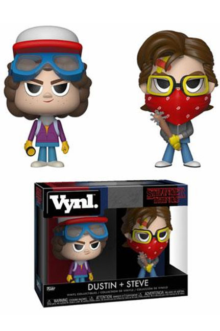 Stranger Things VYNL Vinyl Figures 2-Pack Steve & Dustin 10 cm