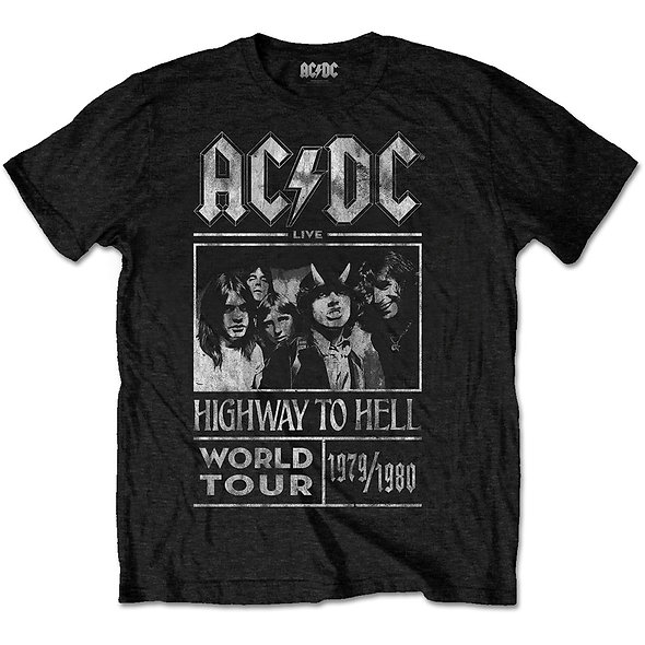 AC/DC, Highway To Hell World Tour 79/80