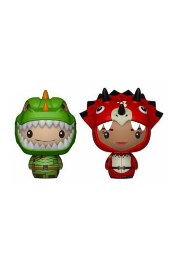 Fortnite Pint Size Heroes Mini Figures 2-Pack Rex & Tricera Ops 6 cm