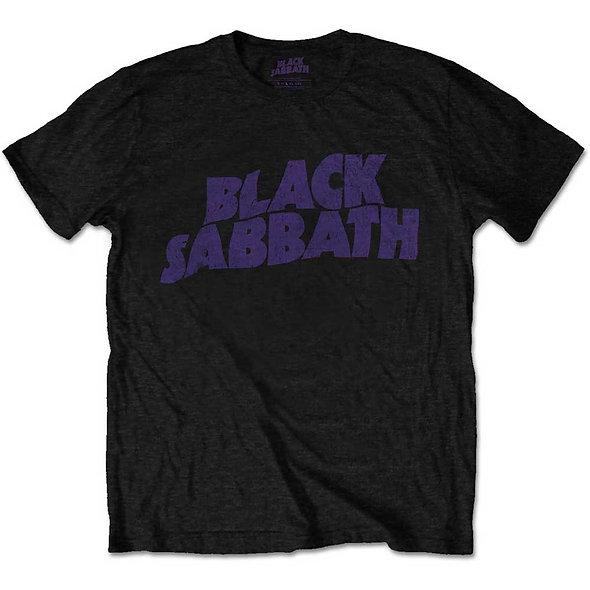 Black Sabbath, Wavy Logo Vintage