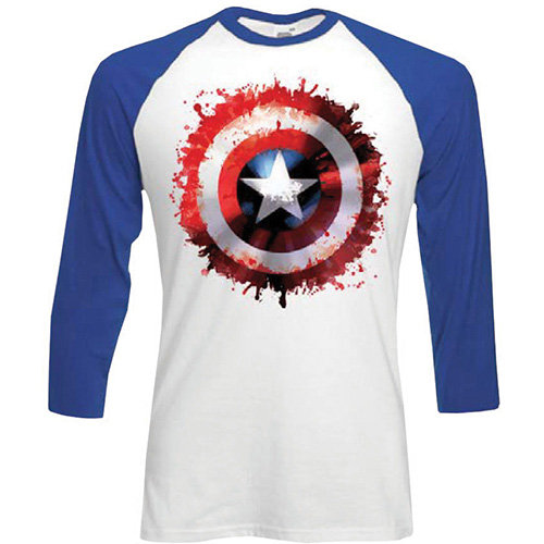 Marvel Comics : Captain America, Splat (Raglan)