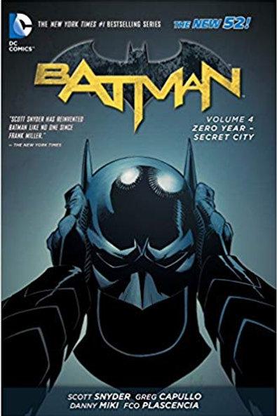 Batman Volume 4: Zero Year - Secret City TP