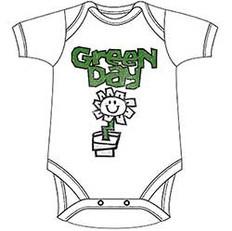 Green Day Kids Baby Grow: Flower Pot