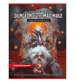 Dungeons & Dragons RPG Waterdeep : Dungeon of the Mad Mage - Maps & Miscellany (