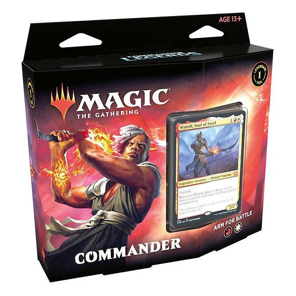 Commander Legends Commander Decks, Arm For Battle
