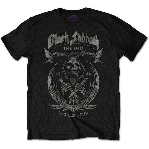 Black Sabbath, The End Mushroom Cloud (Distressed)