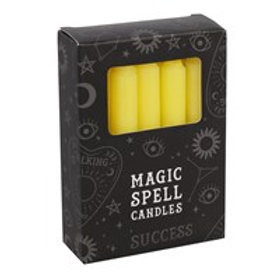 Yellow 'Success' Spell Candles