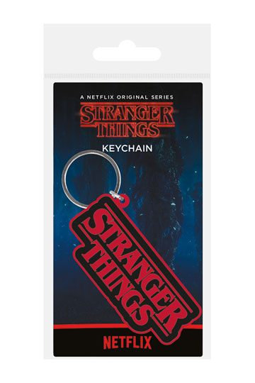 Stranger Things Rubber Keychains 6 cm
