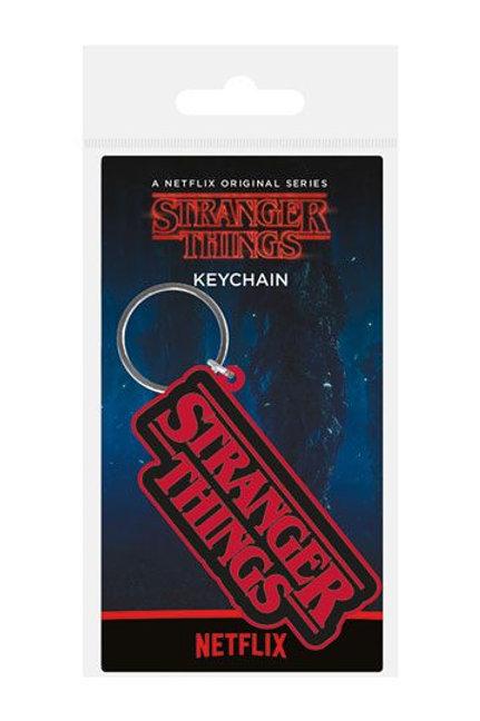 Stranger Things Rubber Keychains 6 cm