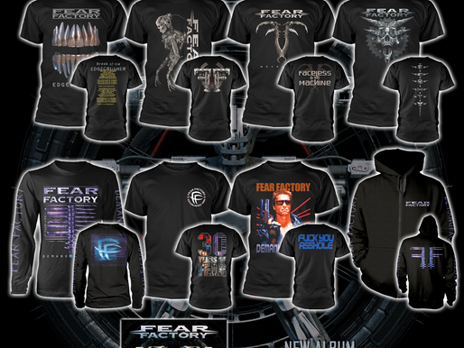 Fear Factory, New Album & New Tees!