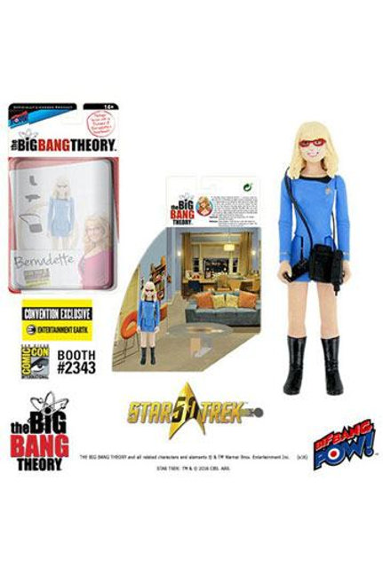 Big Bang Theory (The) Action Figures with Diorama Set Bernadette TOS EE Exclus