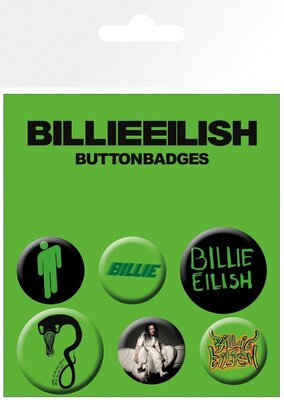Billie Eilish Mix Badge Pack