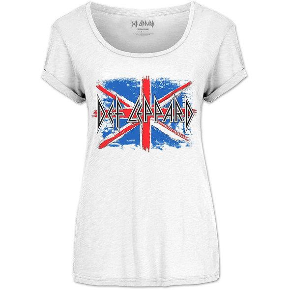 Def Leppard 'Union Jack' (Ladies)