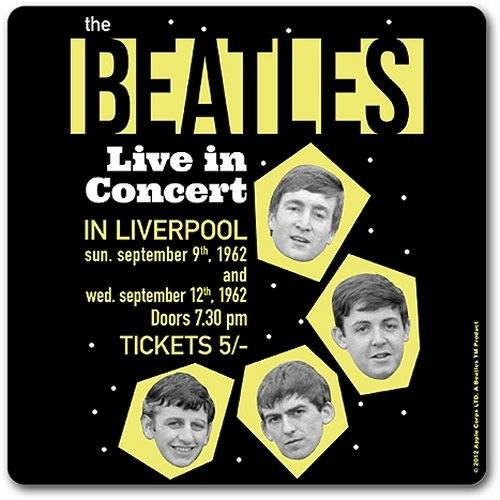 Beatles (The), 1962 Live In Concert