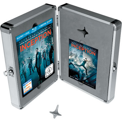 INCEPTION Limited Edition Blu-ray Briefcase Gift Set