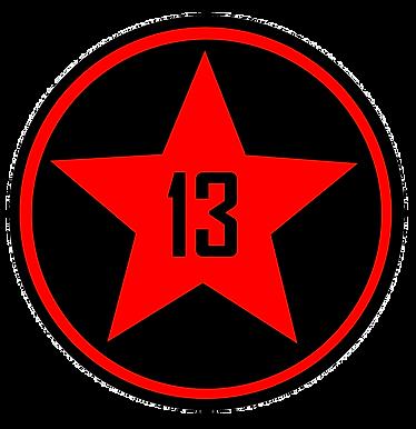 Red Star 13 Branded