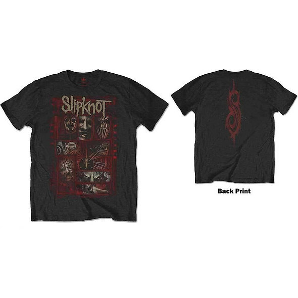Slipknot, Sketch Boxes (Back Print)